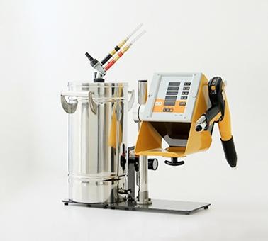 浅谈:自动旋杯静电喷枪的高效自动化应用